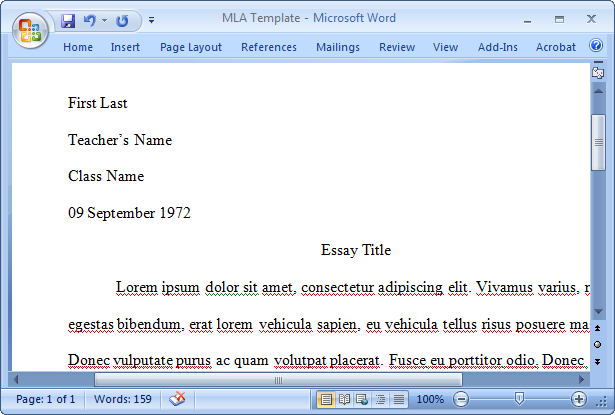 mla format software free